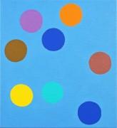 12x11″ alkyd on canvas